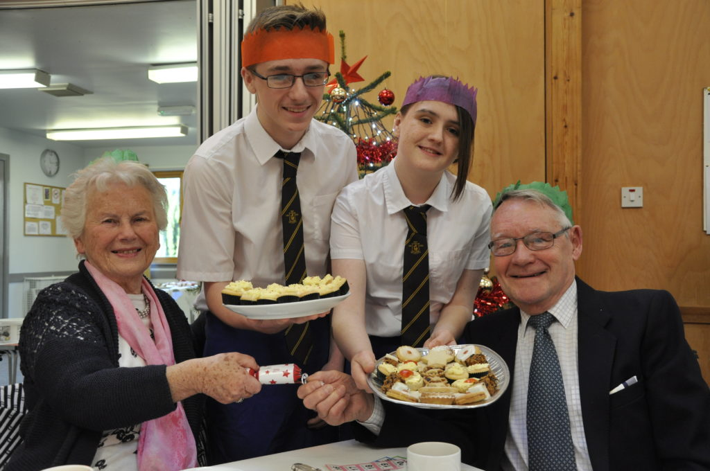 What a treat for Oban pensioners