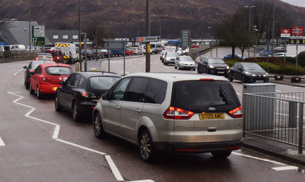 Roadworks fail to ease Fort traffic gridlock