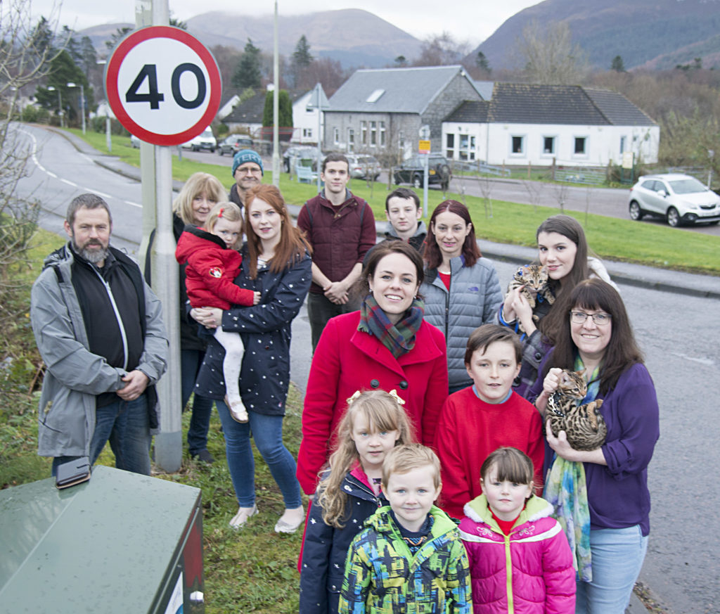 Campaigners celebrate speed limit win at Ballachulish ...