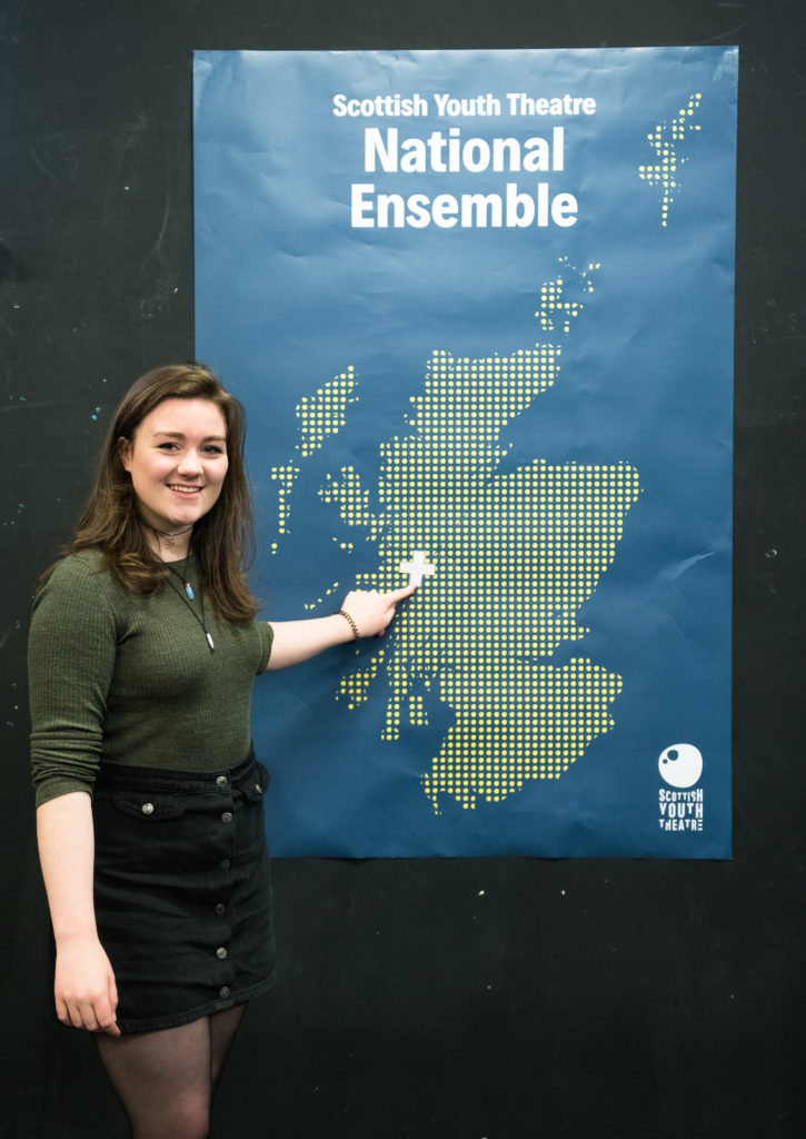 Banavie's Katryn makes youth theatre's top 20