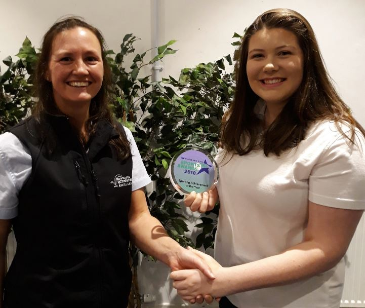 Appin's Aimee wins top sports accolade