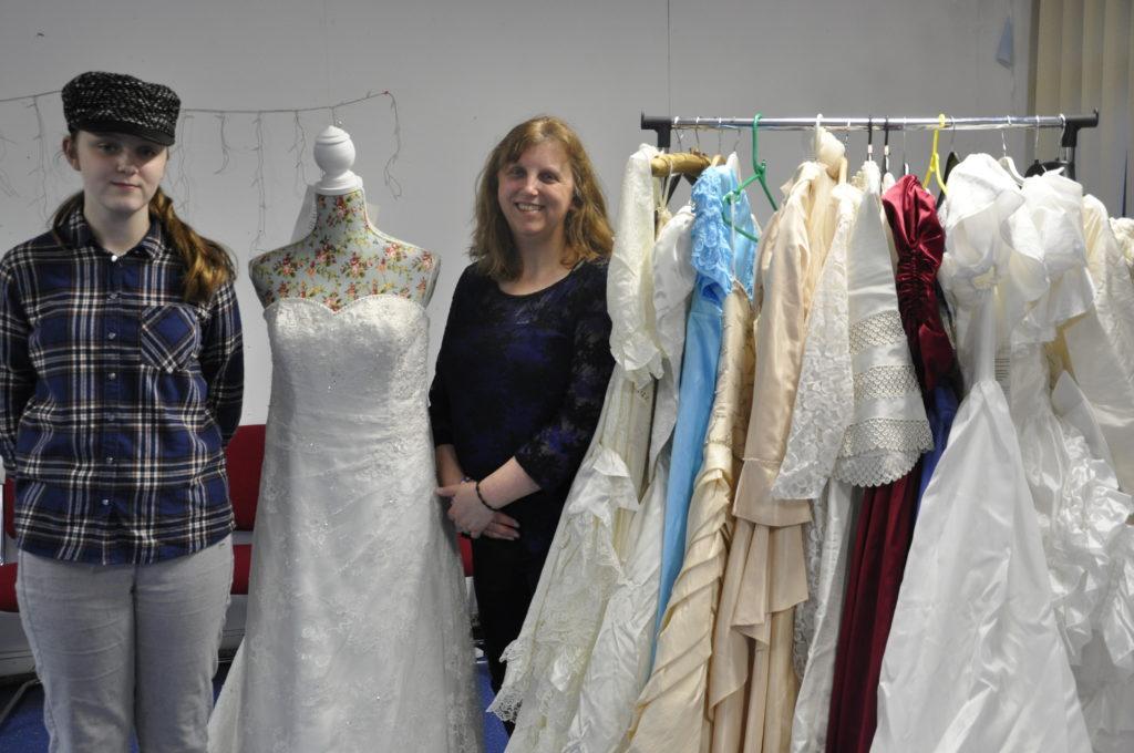 Oban women donate wedding dresses to help bereaved families