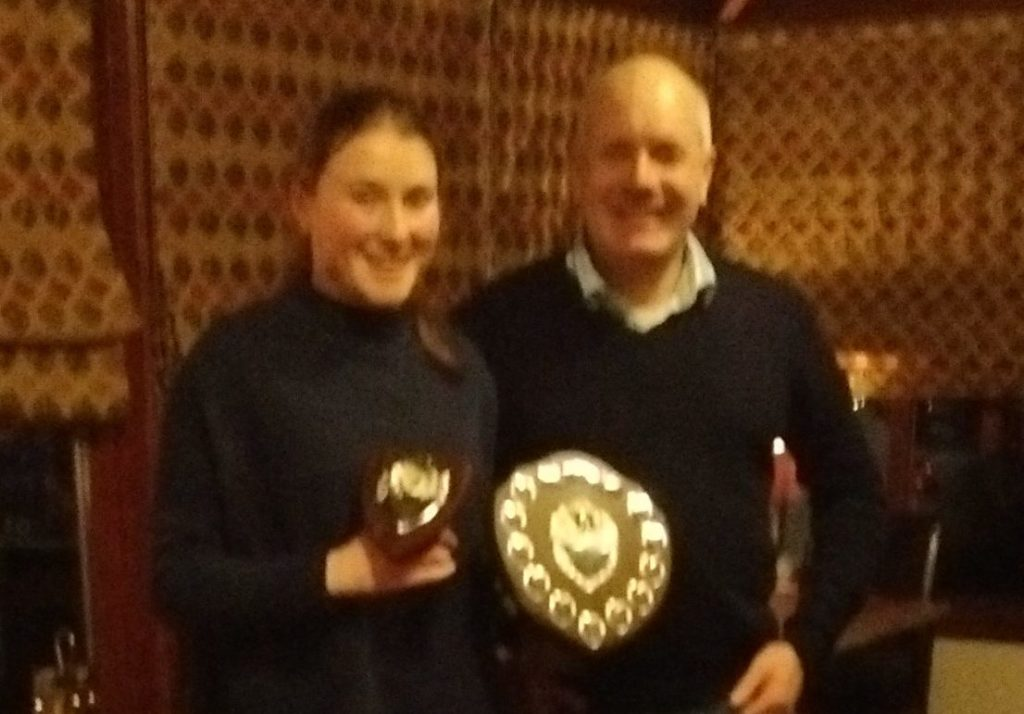 Isla and Emily scoop top awards at Glengarry shinty awards night