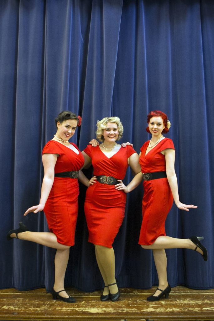 The Ragtime Dolls put on a show in Corpach