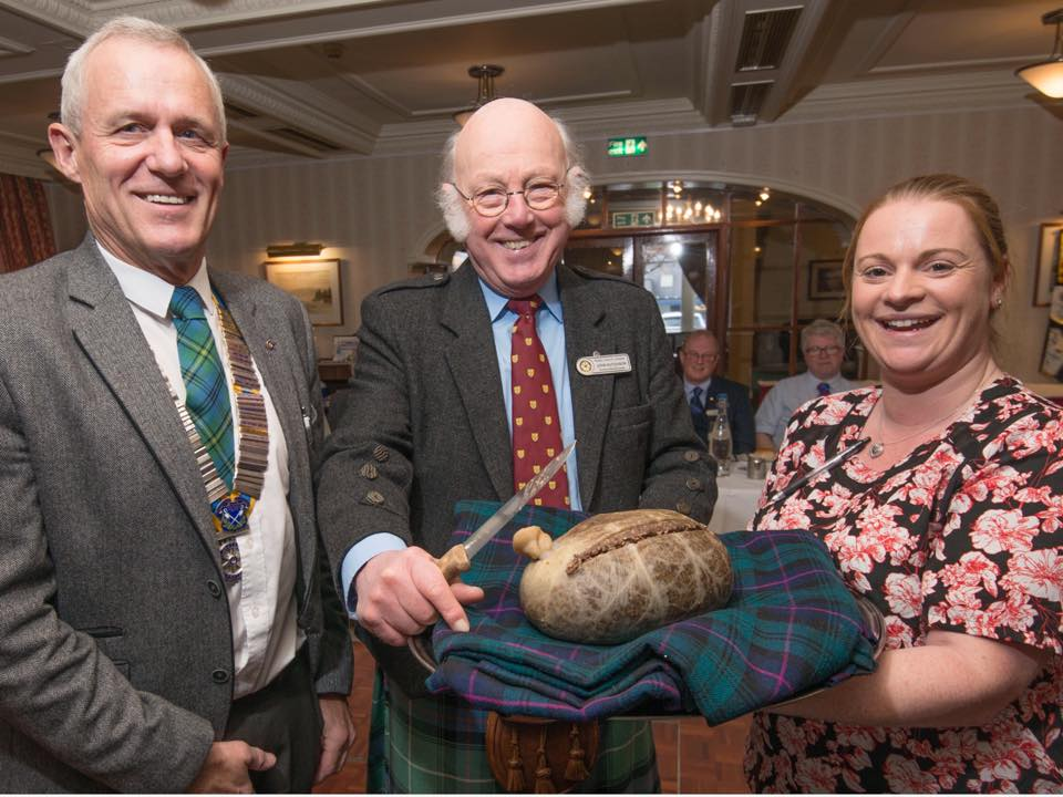 Lochaber Rotarians enjoy Burns lunch