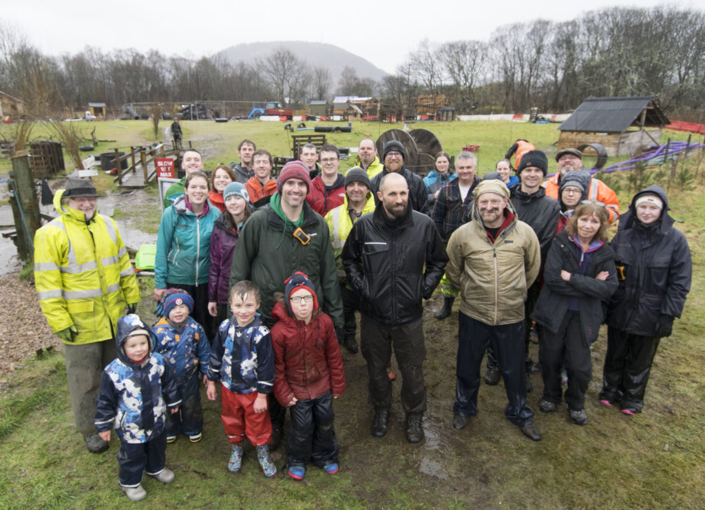 Community turns out in force to clear Stramash blaze wreckage