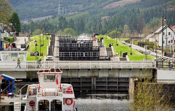 Caledonian Canal reopens after works delay