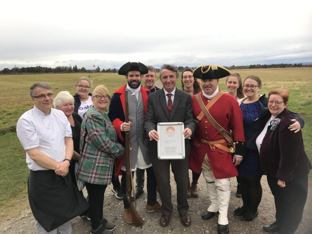 New accolade for Culloden battle site