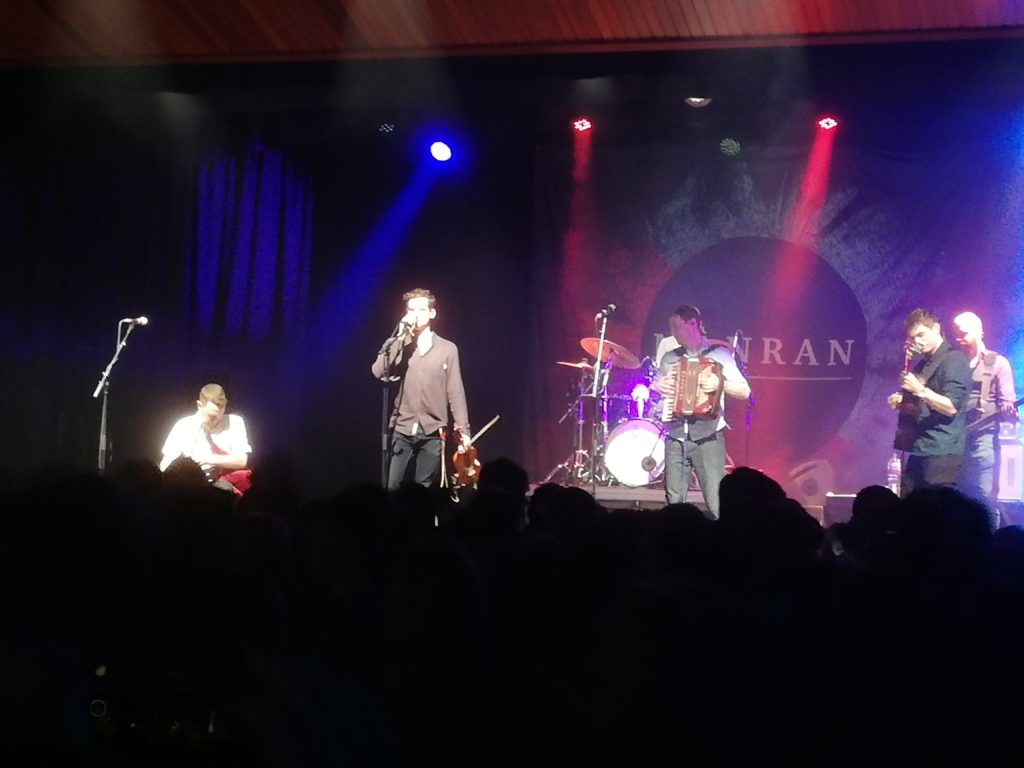 Mànran's Oban gig fuels up last of festive energy