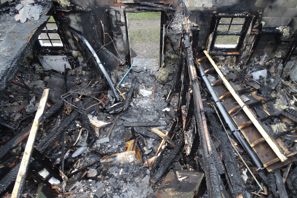 Lismore couple lose everything in house fire
