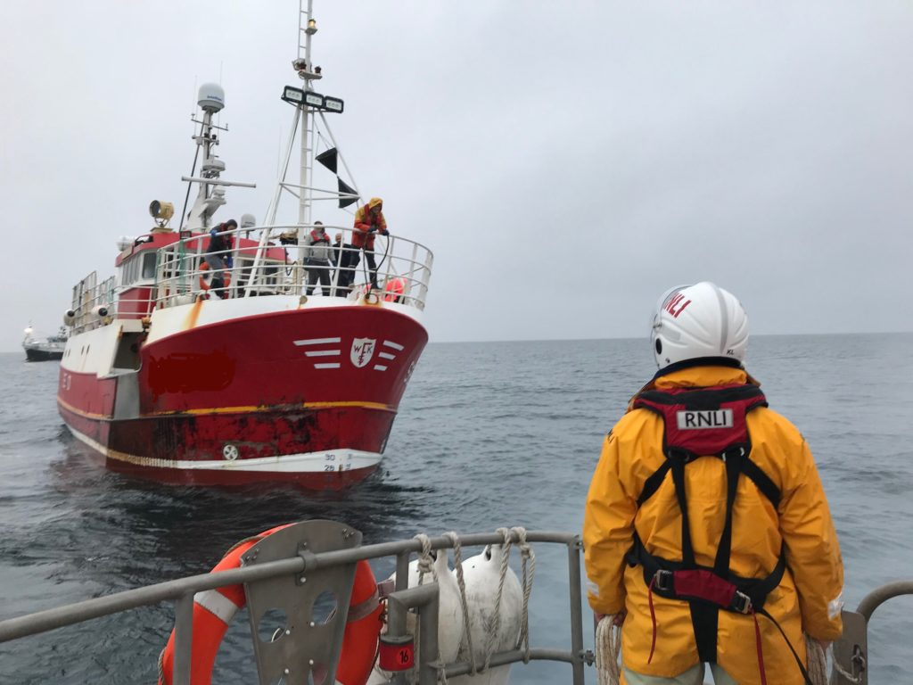 Ten-hour rescue operation for Oban lifeboat crew