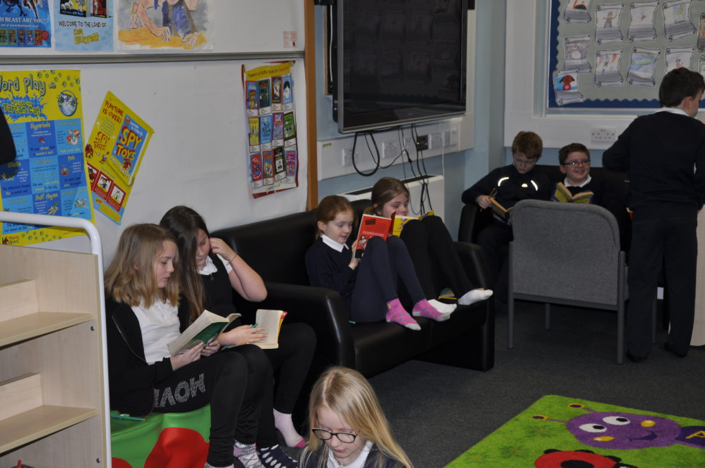 Youngsters rock at reading challenge