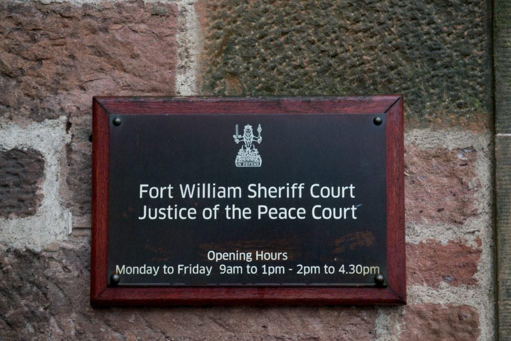 Spean Bridge man admonished after assault conviction