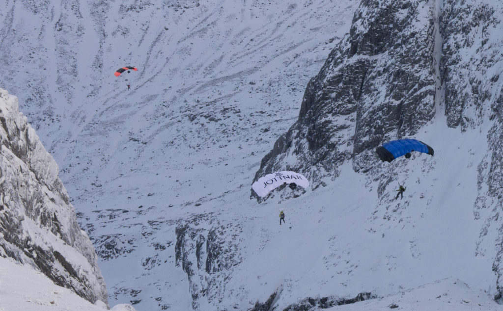 Daredevil takes a leap from Ben Nevis