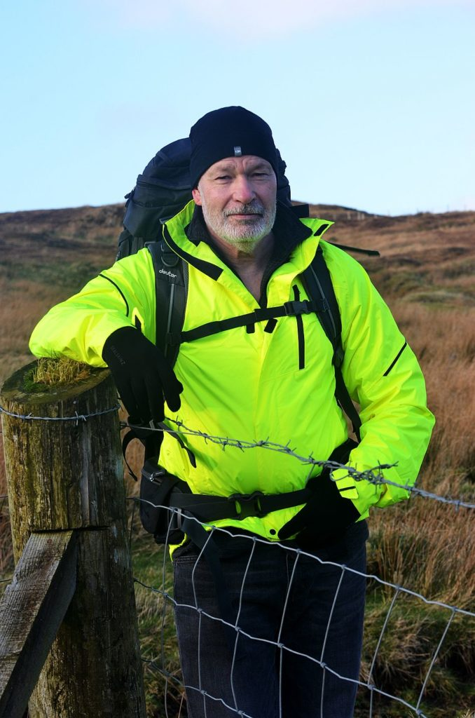 Dunvegan's Graham puts best foot forward for charity