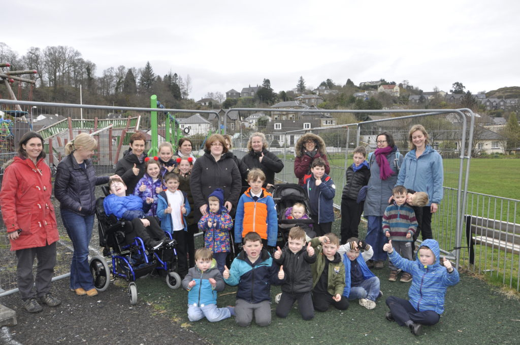 Green light for play park repairs
