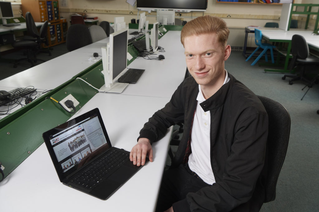 Mallaig High pupil Struan could potentially help save lives