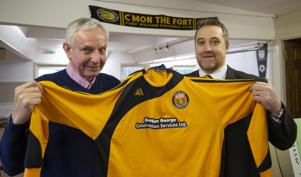 Gordon George sponsors new strips for Fort FC