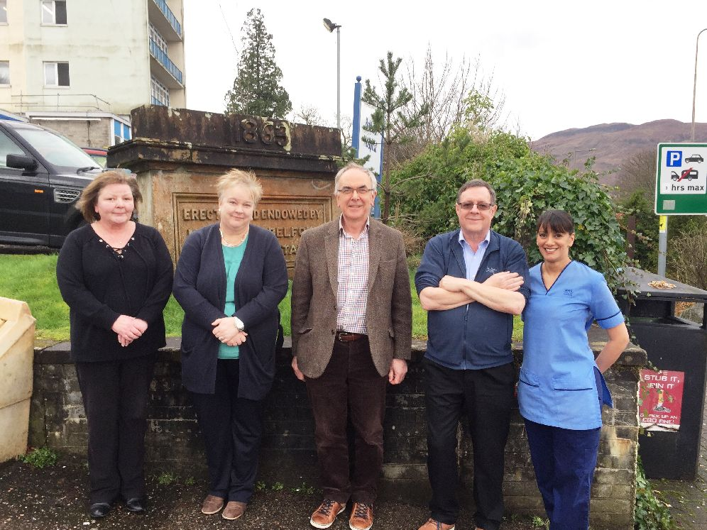 New head of NHS Highland visits Fort William