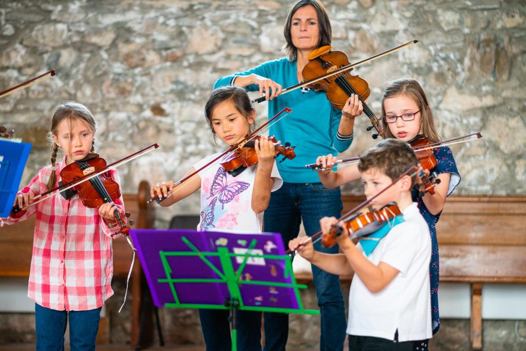 Eilidh Trust makes music on Mull