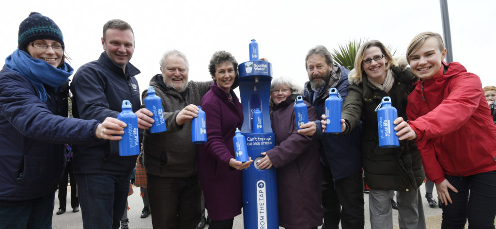 Town centre top-up tap goes down a treat
