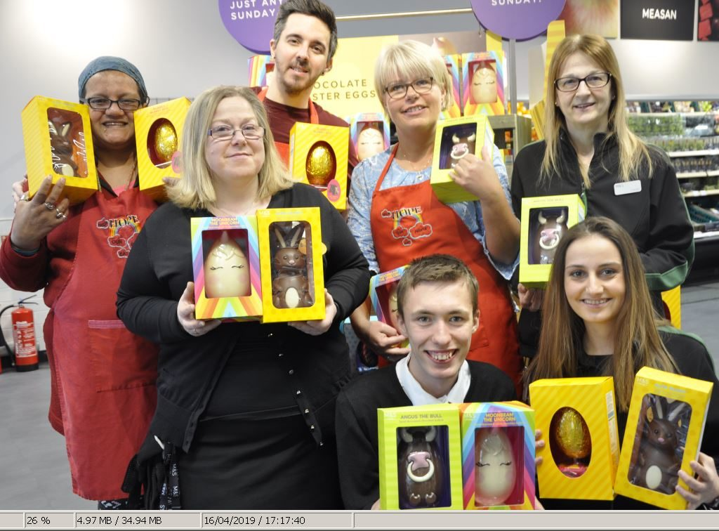 M&S hop to it with Easter egg donations