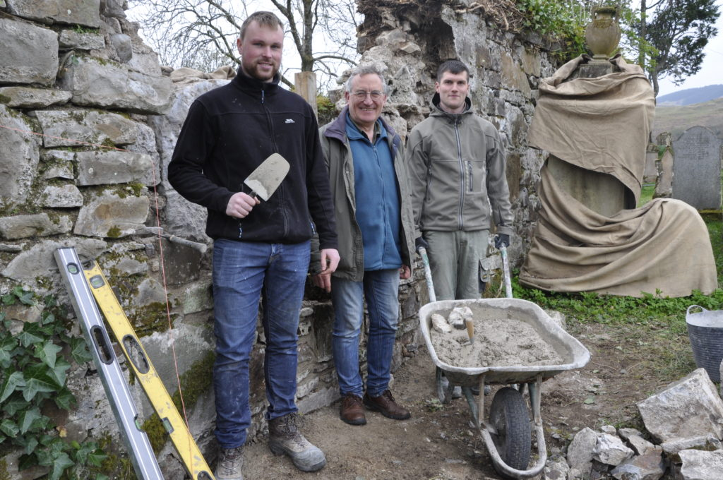 Historic church site heartened by wind farm funding