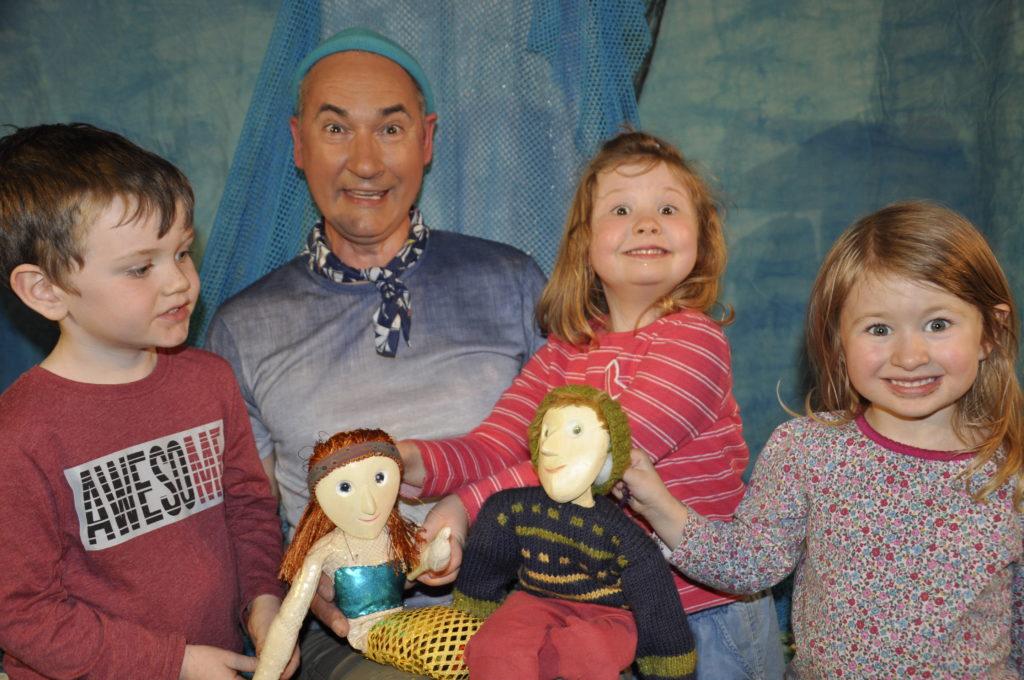 Steve's puppets shine a light on Easdale