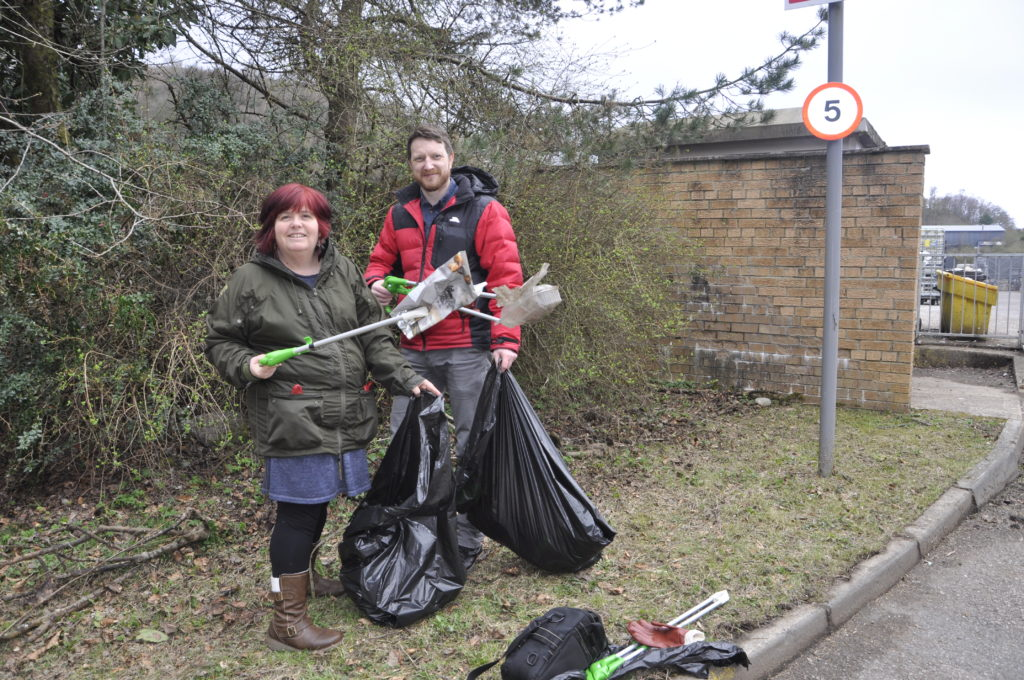 Community adds sparkle to spring clean