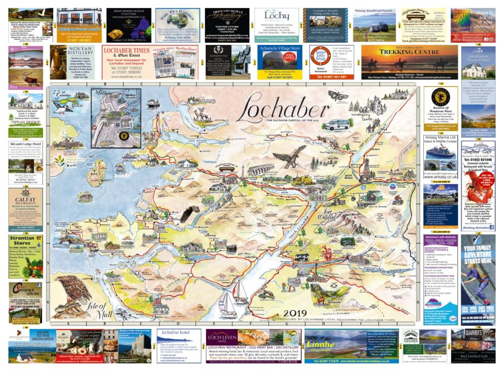 Fort William & Lochaber Maps 2019