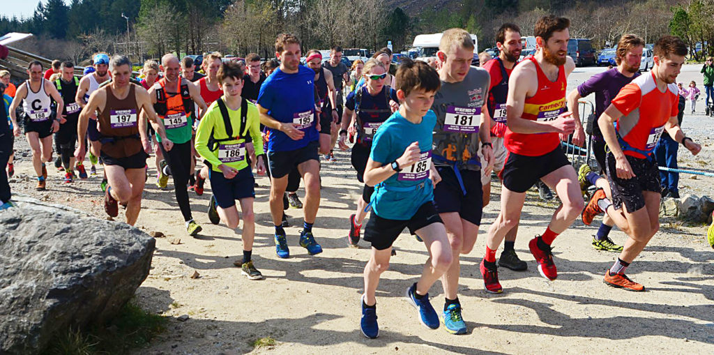 Sixty-eight runners compete in Aonach Mor race