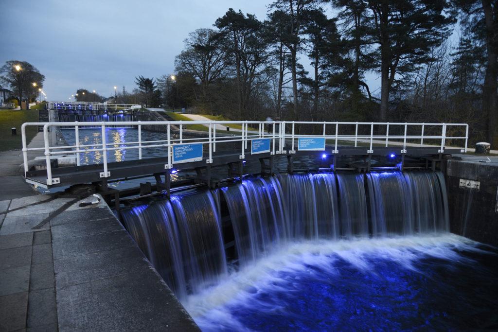 WATCH: Lochaber landmarks shine blue for World Parkinson's Day