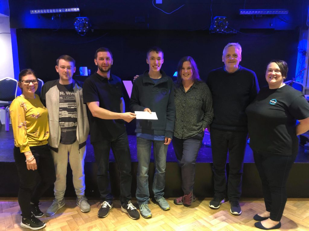 Charity bingo night raised £350 for Oban Youth Cafe
