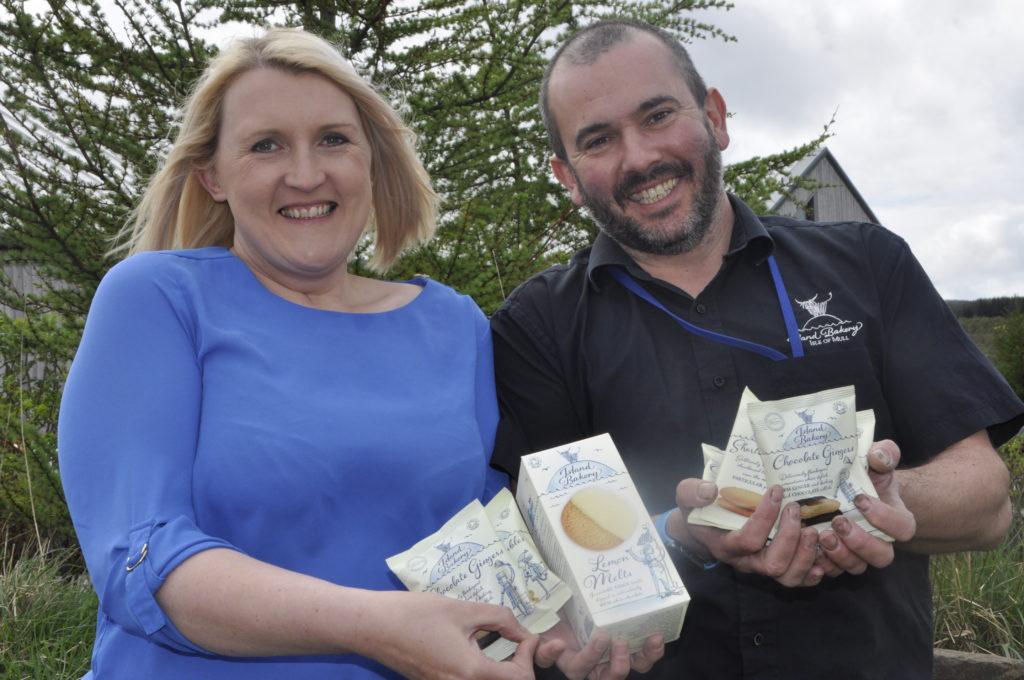 Mull Bakery scoops organic award for Lemon Melt biscuits