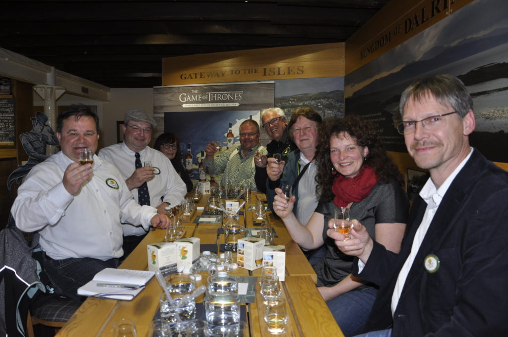 Whisky galore for Single Malt Club