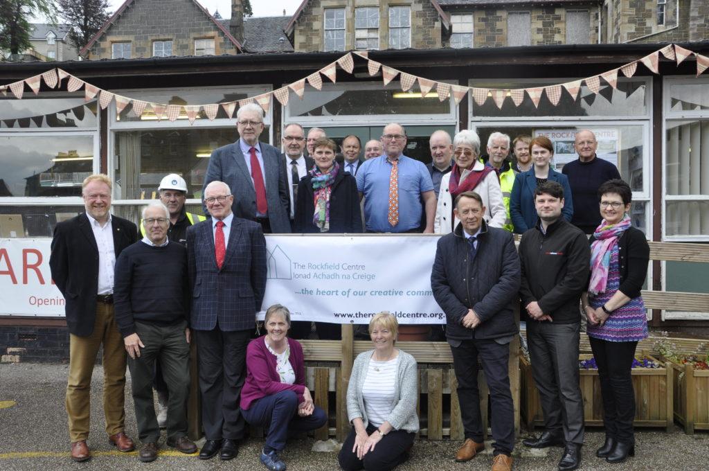 Rockfield progress creates party atmosphere