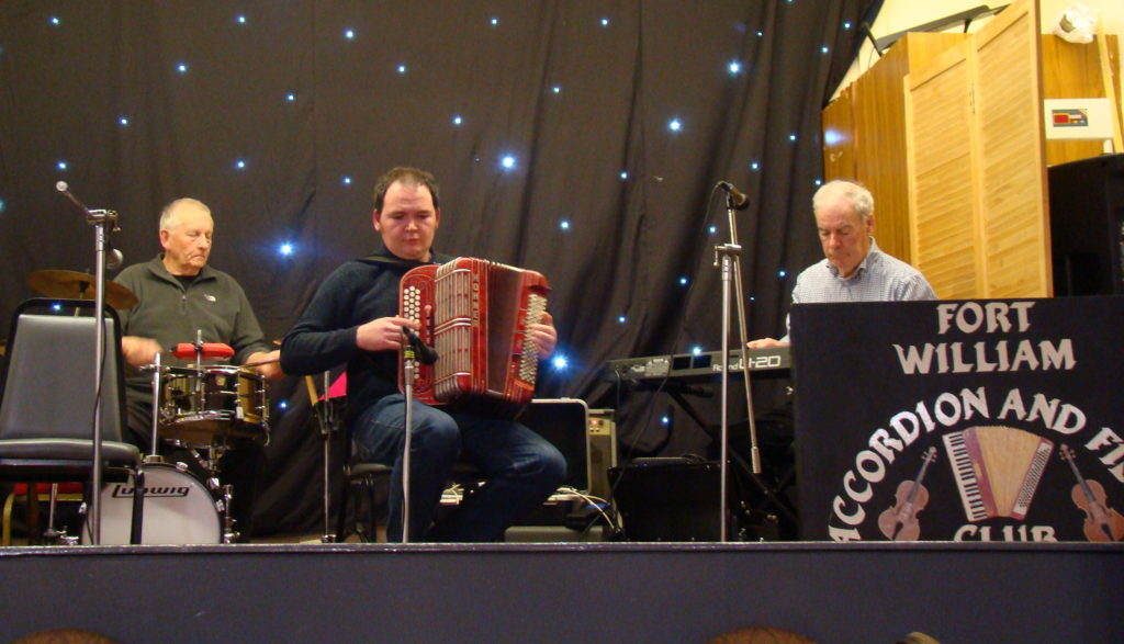 Fort William Accordion and Fiddle Club season finisher