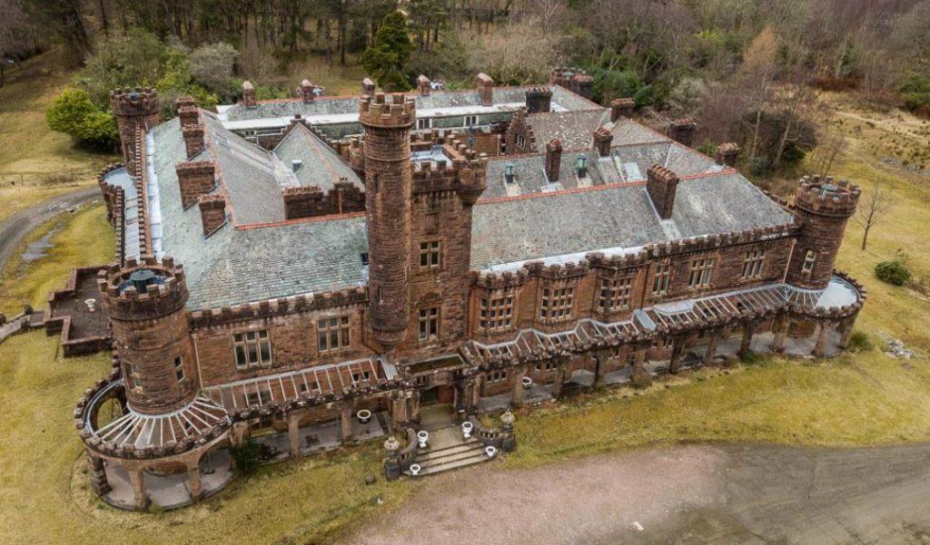 Kinloch Castle association renews appeal for green fundraising