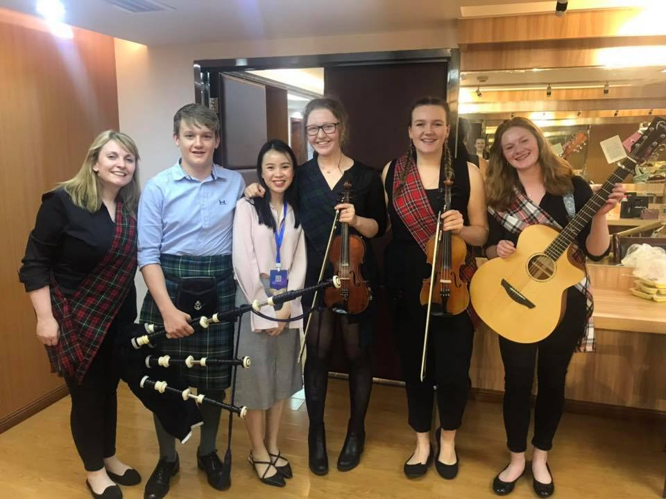Mallaig young musicians wow audiences on China trip