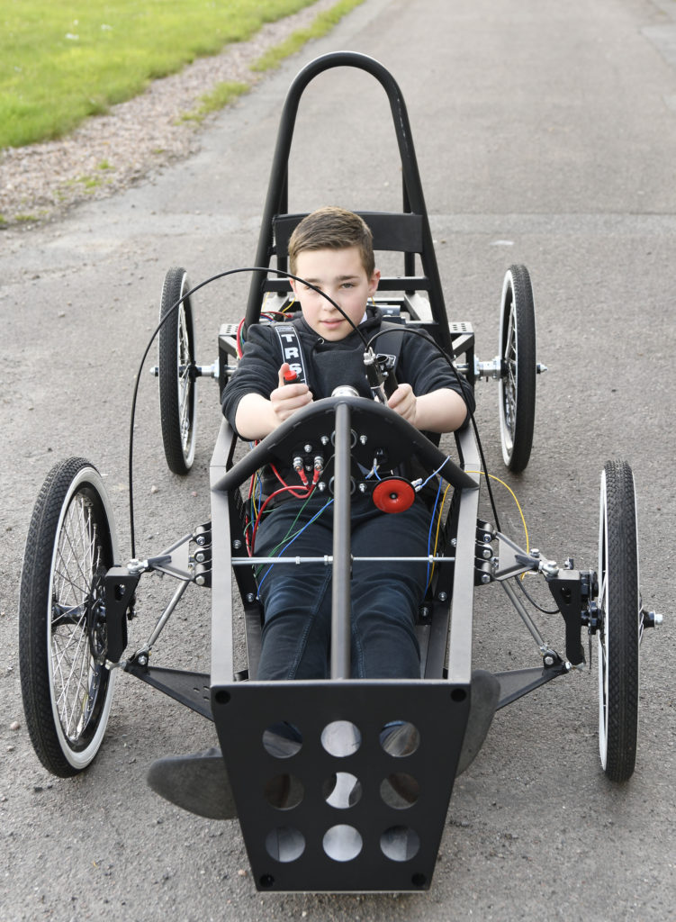 Lochaber High School's young engineers in drive for electric car glory
