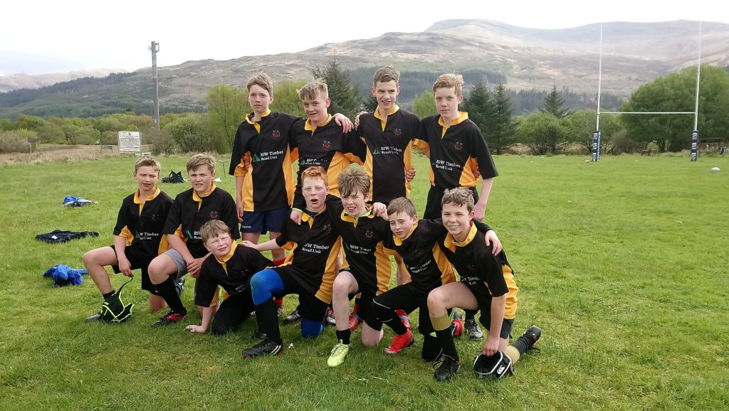 Lochaber rugby juniors impress at Isle of Mull festival