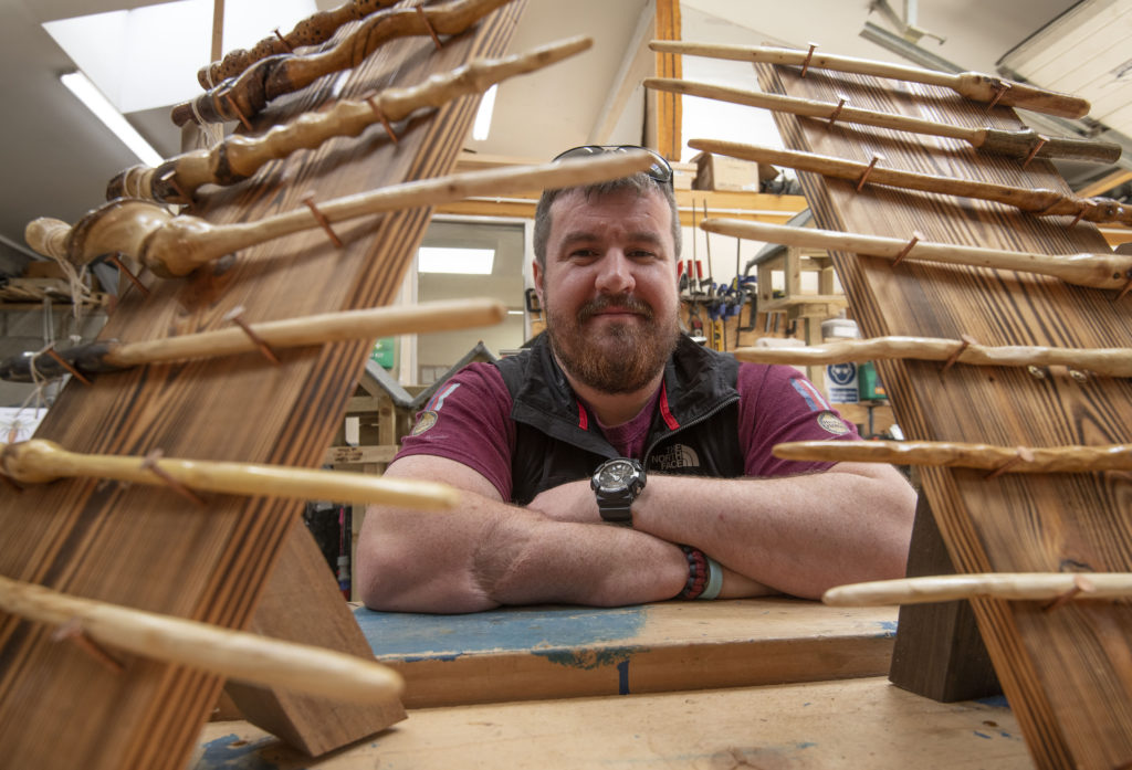 Fort Men's Shed gives ex-soldier Stuart a new lease on life