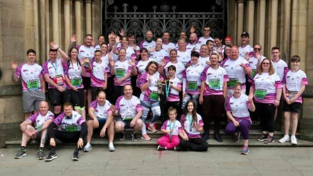 Team Eilidh goes the distance for Barra Manchester bomb victim