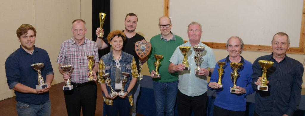 Table tennis club enjoys end of season awards night