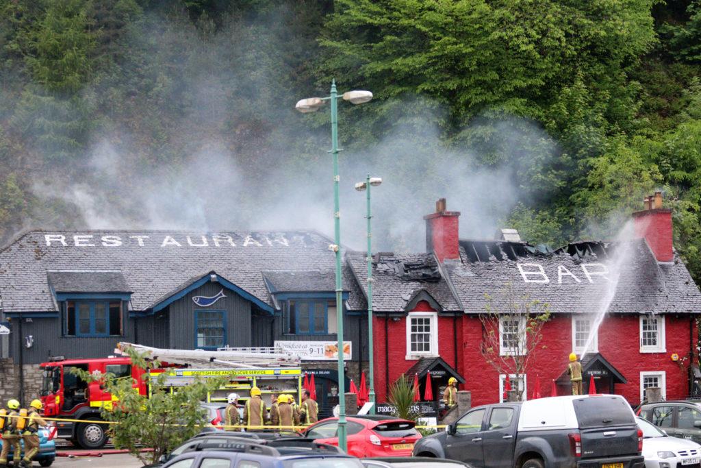 Mull pub badly damaged by fire