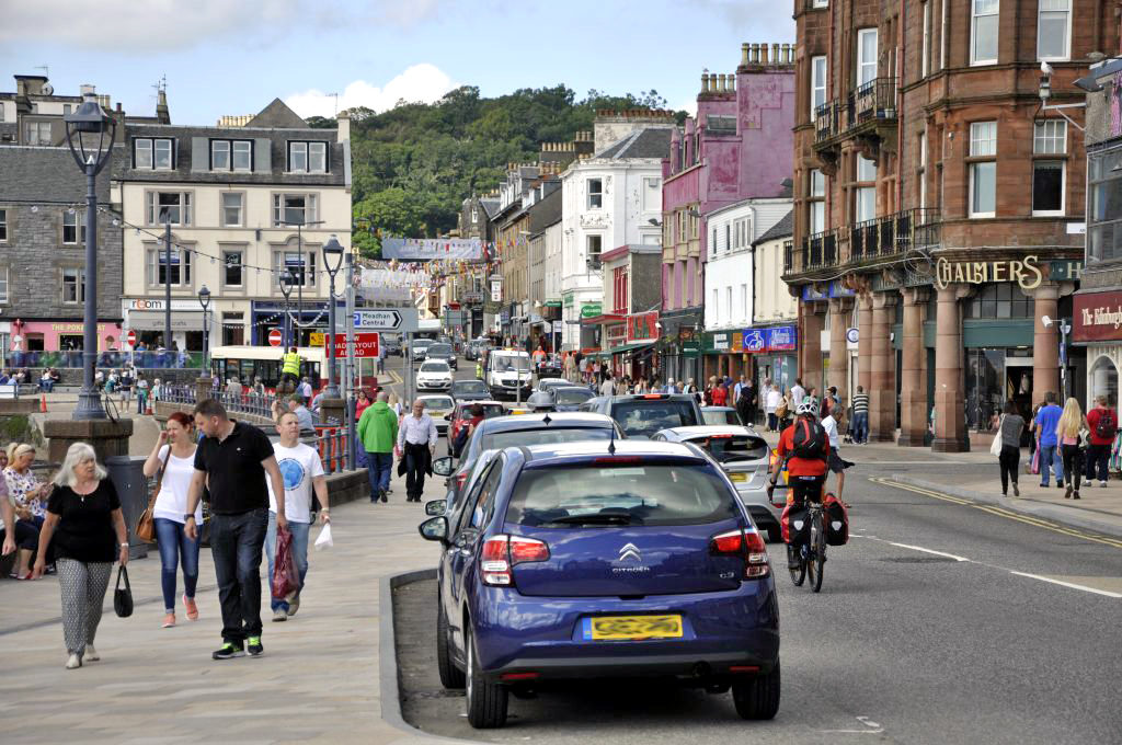 Accommodation is Oban's main issue for finding staff