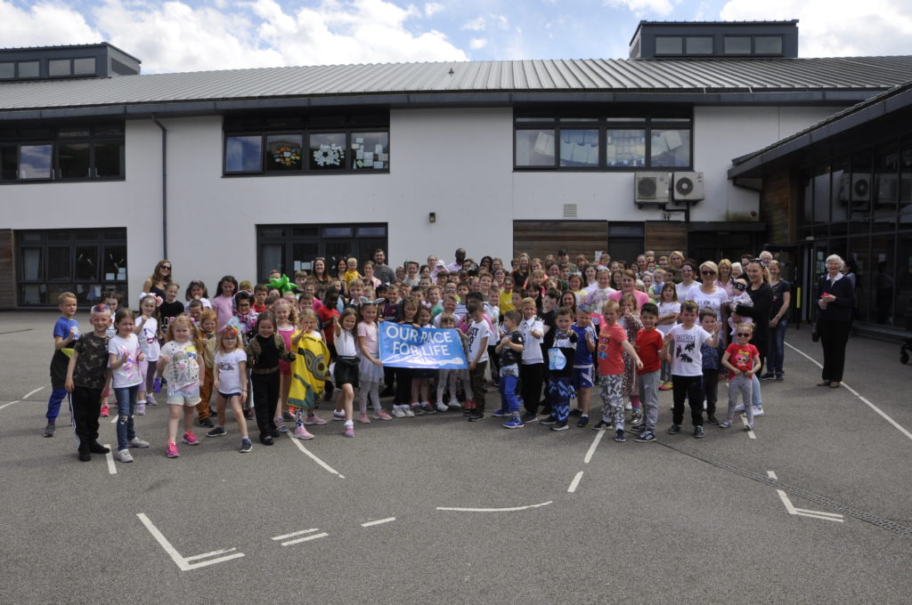 Little racers do their bit for cancer research