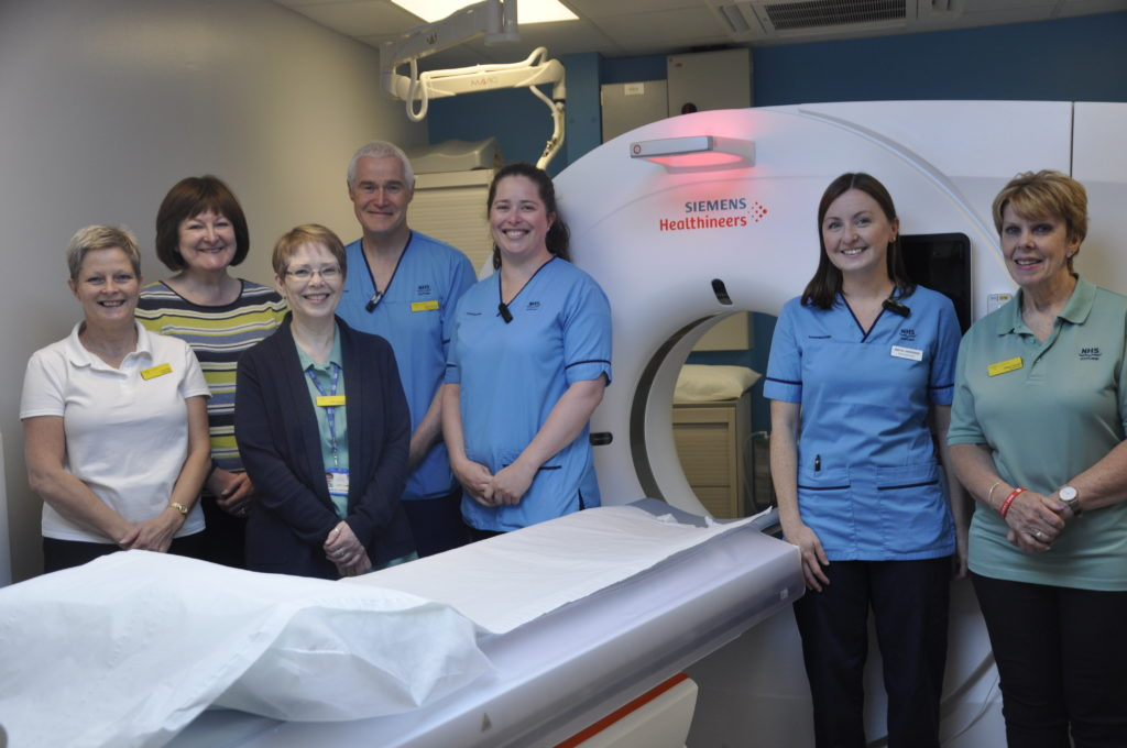 New CT scanner unveiled at Lorn and Islands Hospital