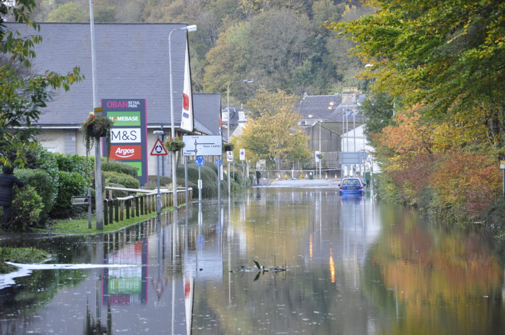 Feedback event for Oban Flood Study