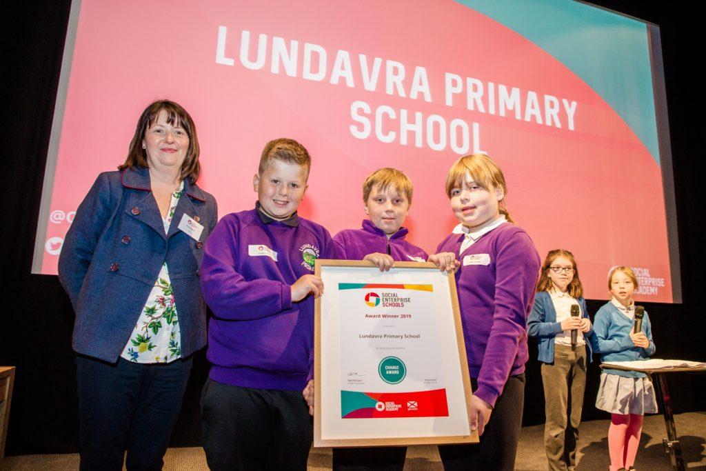Lochaber schools win social enterprise awards